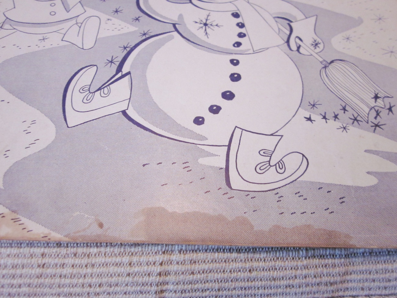Vintage Sheet Music  Frosty The Snow Man by Nelson and Rollins 1950 lot 1