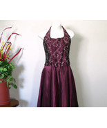 Gunne Sax  Halter Top Gown Long Skirt Embroider... - $45.00