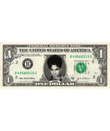 PRINCE on REAL Dollar Bill - Celebrity Collectible Custom Cash - $3.33