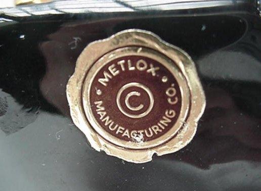Old Metlox Poppytrail Ca Pottery Merry Oldsmobile Planter