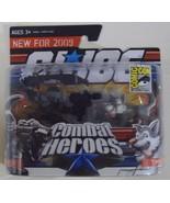 GI Joe Combat Heroes Snake Eyes w/ Timber 2009 San Diego Comic Con SDCC ... - $9.50