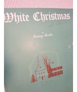 Vintage Sheet Music White Christmas by Irving Berlin 1942 lot 2 - $7.99