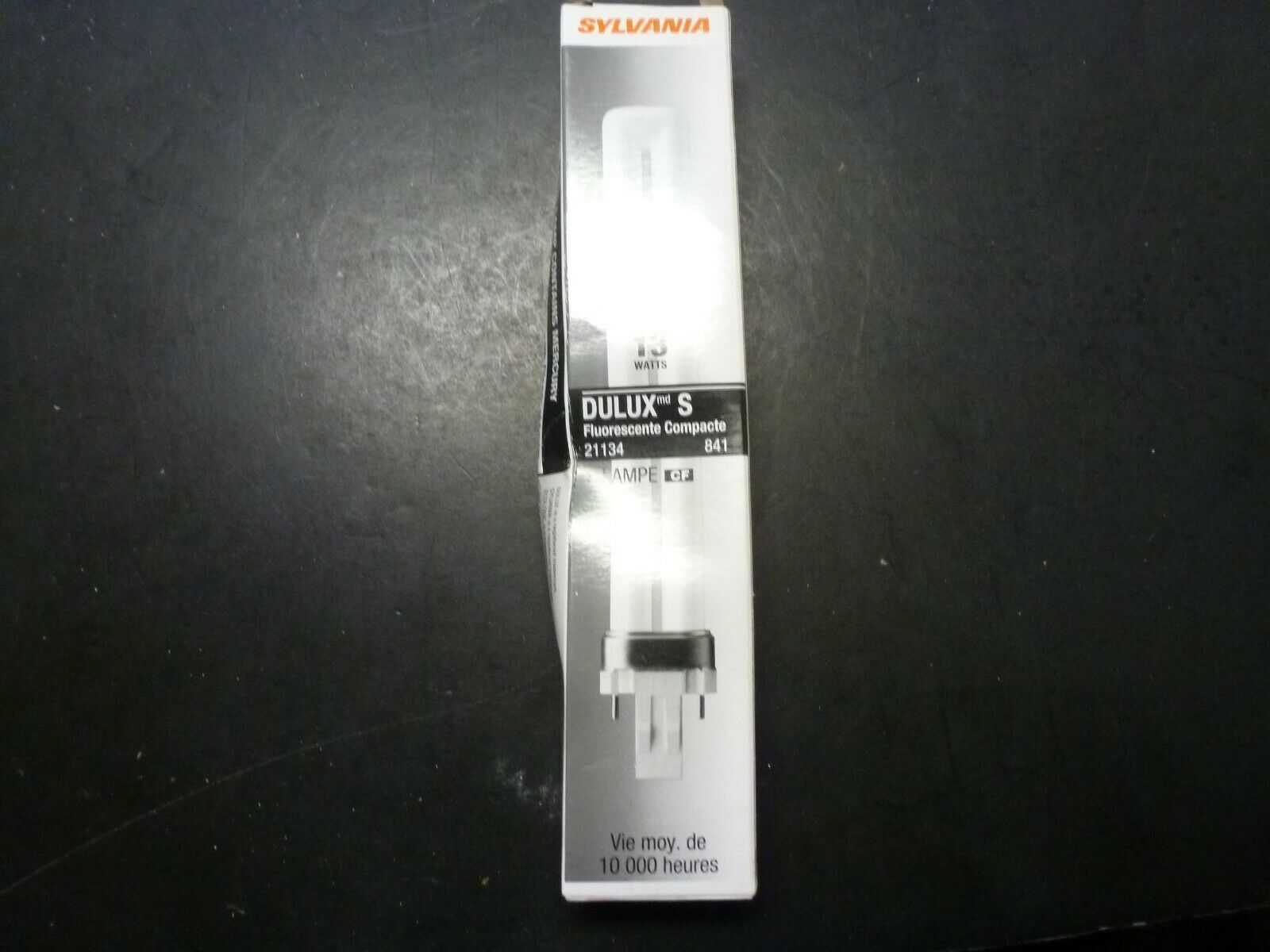 Primary image for Sylvania 13W Dulux S Compact Fluorescent Bulbs 21134 Lot Of 3