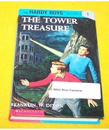 Vintage Hardy Boys Book The Tower Treasures #1 Franklin Dixo - $10.00