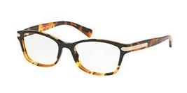 Authentic Coach Eyeglasses HC6065 5438 Black Tortoise Frames 51mm Rx-ABLE - $128.69