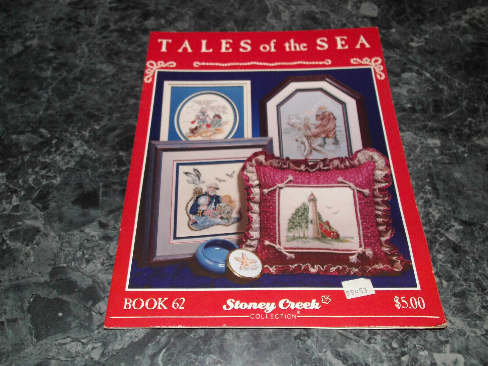 Tales of the Sea Stoney Creek Collection Book 62 needle craft