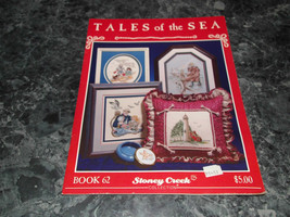 Tales of the Sea Stoney Creek Collection Book 62 needle craft - $2.99
