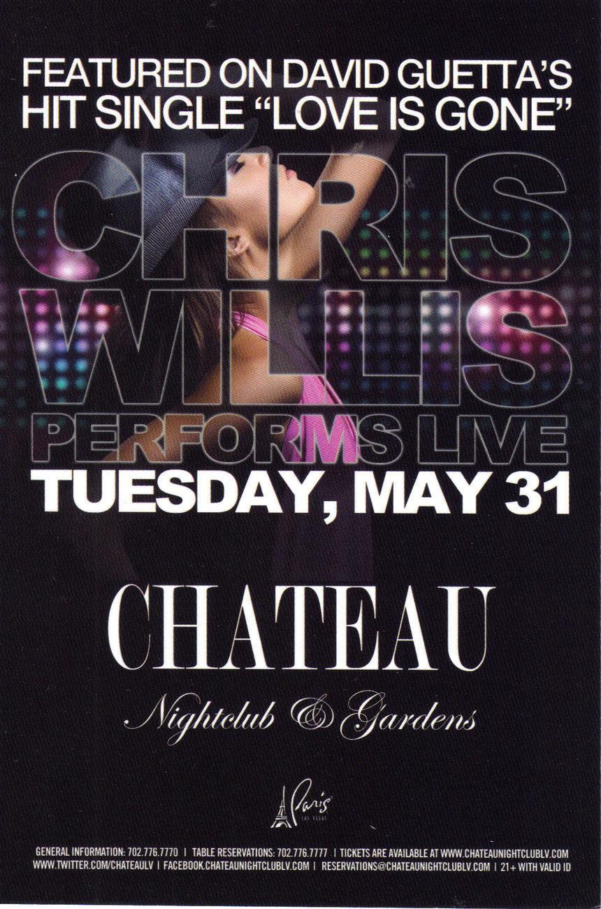 Chateau chris willis