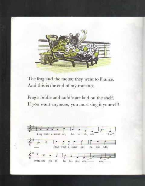 John Langstaff's Frog Went A-Courtin', Copyright renewed 19