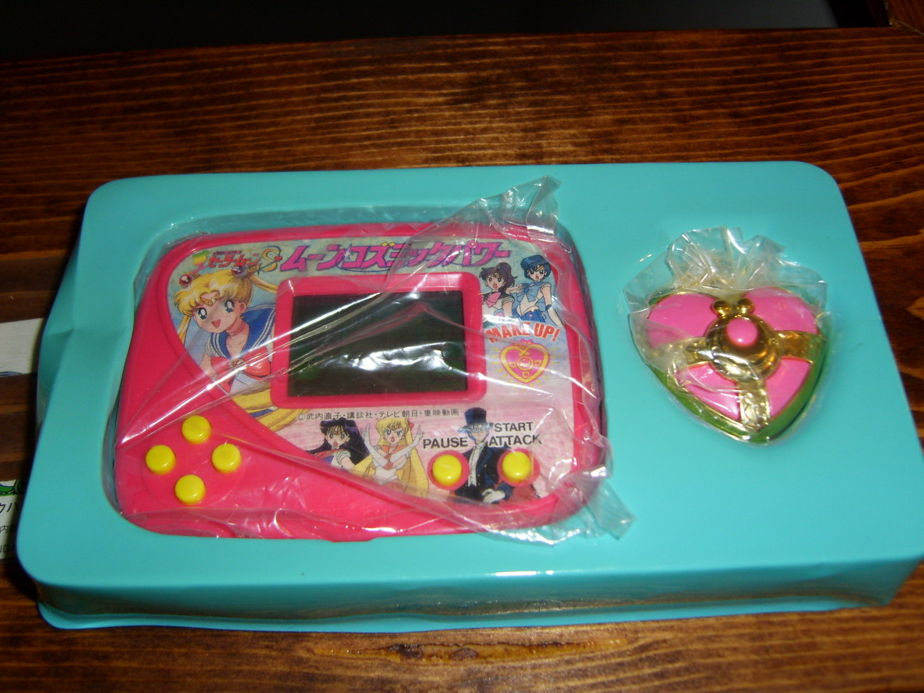 Sailor Moon handheld Japanese game complete and never used