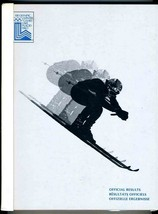 XIII Olympic Winter Games Lake Placid 1980 Official Results Resultats Of... - $198.50