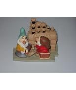 Disney Classics Snow White Grumpy And Happy Fig... - $9.99