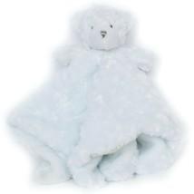 Blankets & Beyond Teddy Bear Lovey Swirl Barely Light Blue Security Blanket - $25.63