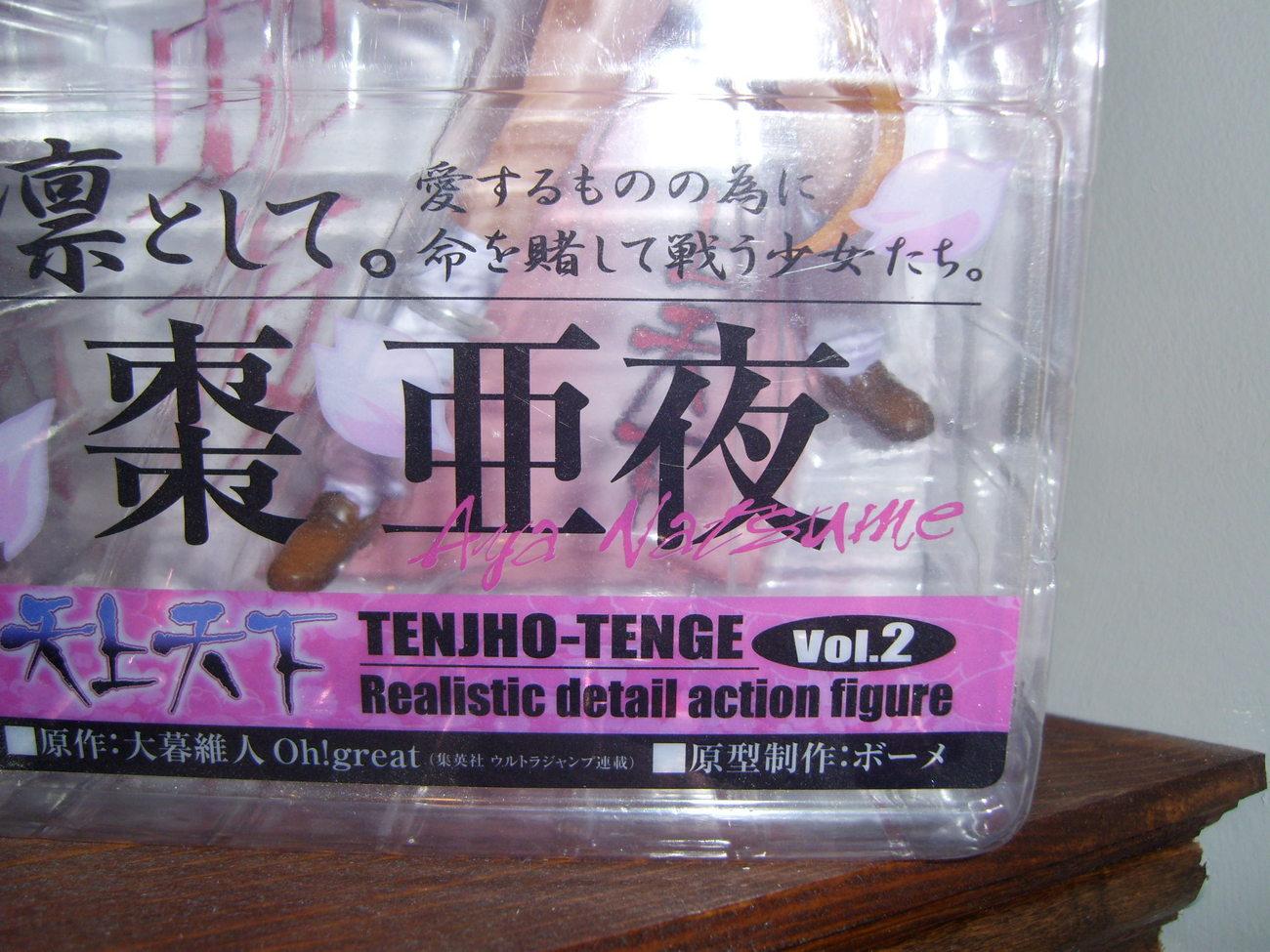 Tenjho Tenge Figure MIB MOC Volume 2