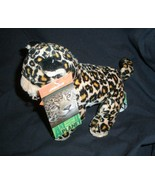 Jaguar plush with real sounds Animal Planet Rainforest - $14.95