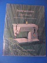SINGER MODEL 609 Slant-Needle Instruction Manual - $25.00