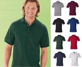 JERZEES Adult Men's Heavyweight Cotton HD Jersey Sport Shirt Polo J100-8 COLORS! - $8.61+