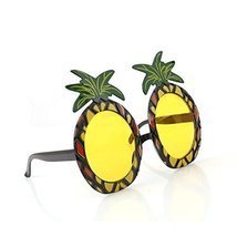 Beach Pineapple Sunglasses - 1 Piece Hawaiian Beach Sunglasses Pineapple... - ₨735.33 INR