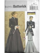 Butterick Historic Costume Pattern #B4954-Misses Early 20TH Century Cost... - $7.66