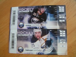 """NHL 2014-15 Buffalo Sabres """"Milestones"""" Full Unused Ticket Stubs $4.99 Each!  - $4.99"""