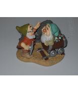 Disney Snow White Doc And Sleepy figurine In The Mine  - $9.99