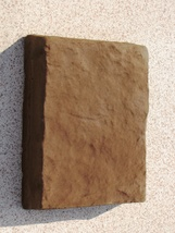 338-01 Chocolate Brown Concrete Powder Color 1 Lb. Makes Stone Pavers Tile Brick image 2