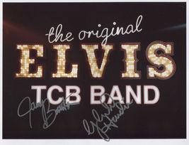 Elvis Presley Original TCB Band SIGNED Photo + COA Lifetime Guarantee - $132.99