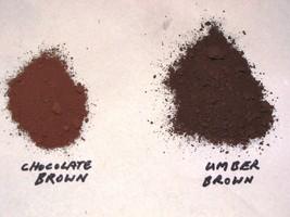 338-01 Chocolate Brown Concrete Powder Color 1 Lb. Makes Stone Pavers Tile Brick image 4