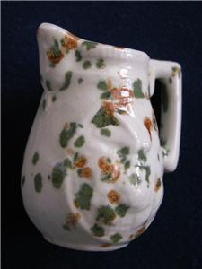 VINTAGE SEAPORT MINIATURE PITCHER HAND PAINTED SAMPLE