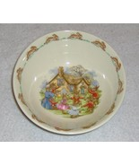 Royal Doulton Bunnykins Bowl English Fine Bone China Vintage Ring Around Rosie - $9.99