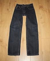 Blue Denim ARMANI JEANS Zip Straight Leg Stonewashed Cowboy Jeans Size 3... - $1.014,69 MXN