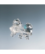 Preciosa Crystal Bear With Pram (Baby Buggy) - ... - $42.00