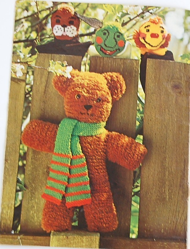 Coats & Clark Toy Land to Knit, Needlepoint & Crochet
