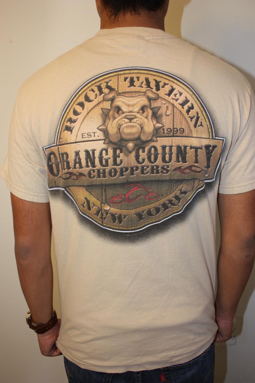 ORANGE COUNTY CHOPPERS NY T-shirt,  M