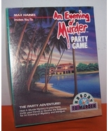 An Evening Of Murder Board Game  Like New - $20.00