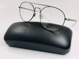New NIKE 8211 072 Brushed Gunmetal Eyeglasses 53mm with NIKE Case - $64.30