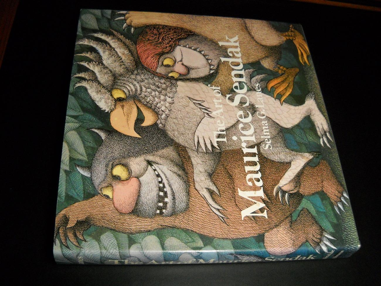Book lanes art of maurice sendak 1984 abradale abrams 01