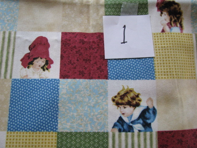 Quilting Treasures Flavia Company Children  Bessie Pease Cotton Fabric