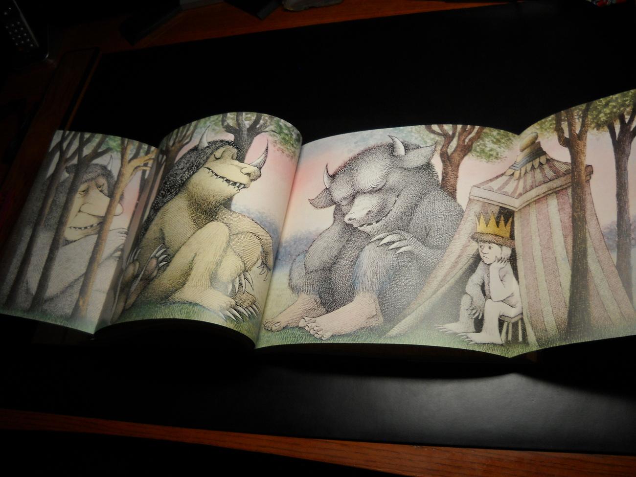 Art of Maurice Sendak by Selma G Lanes 1984 Hard Cover Dust Jacket Abradale