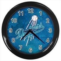 Los Angeles Dodgers Wall Clock (Black) - MLB Baseball - $17.41