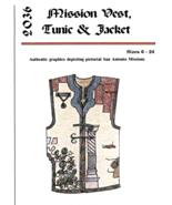 Mission Vest, Tunic & Jacket Dos de Tejas 2036 Artistry Pattern 6-24 - $15.95