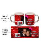 Custom Valentines Day Personalized 11oz Photo Mug Gift #3 - $12.99