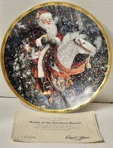 """Lenox Collections """"Santa of the Northern Forest"""" Collector Plate NIB - $9.89"""