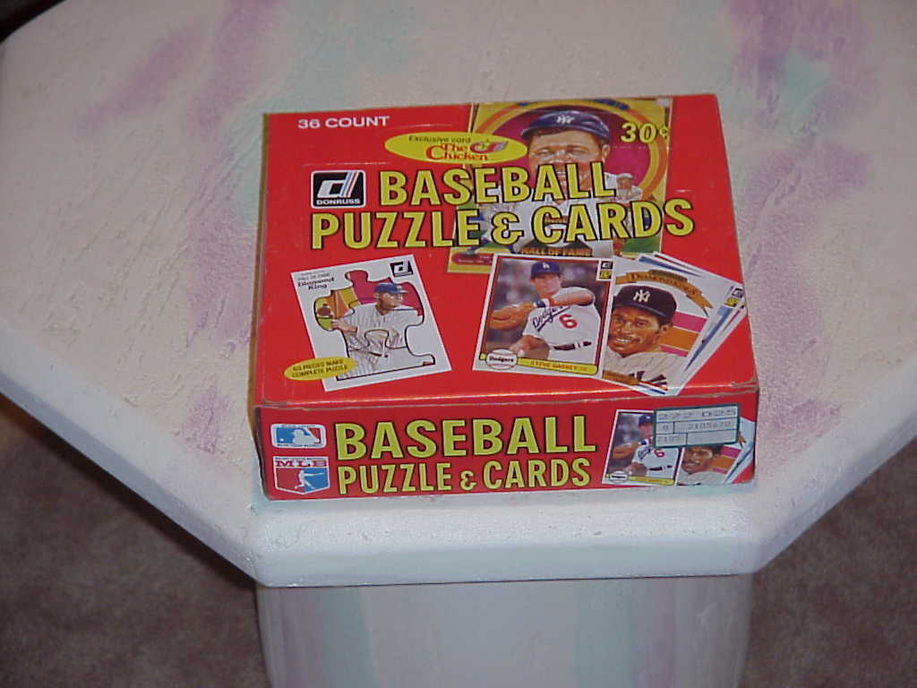 Donruss Baseball Puzzle and Cards 1982 36 ct