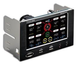Aerocool Fan and Temperature Controller with USB 2.0, eSATA and Audio/Mi... - $70.92