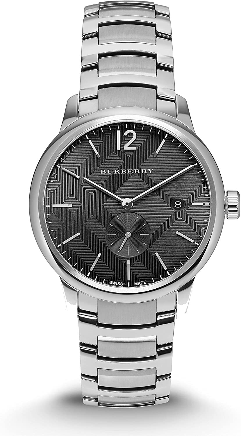 Primary image for Burberry BU10005 The Classic Round Black Dial Bracelet Watch 40 mm - Warranty