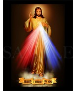 8.5X11 JESUS I TRUST IN YOU Bible Picture New Fine Art Poster Print God Art - $12.16