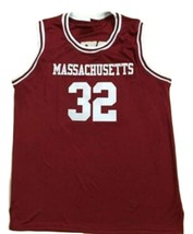 Julius Erving #32 College Basketball Jersey Sewn Maroon Any Size image 4