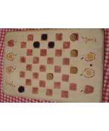 Wooden Vintage Checker Board - Board games - Original - Apples - $39.95