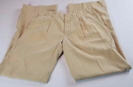 Ralph Lauren Womens Pants Sz M Med Khaki Dress Slacks Career Business - $8.37